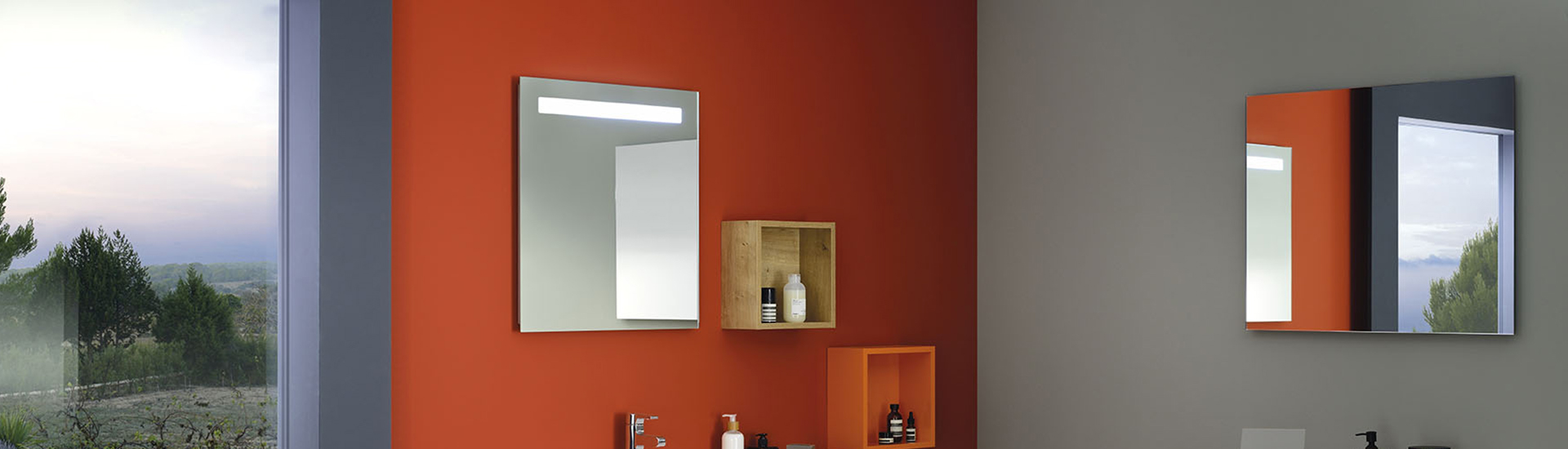 Miroir sanijura reflet amazing miroir avec eclairage for Miroir sans reflet