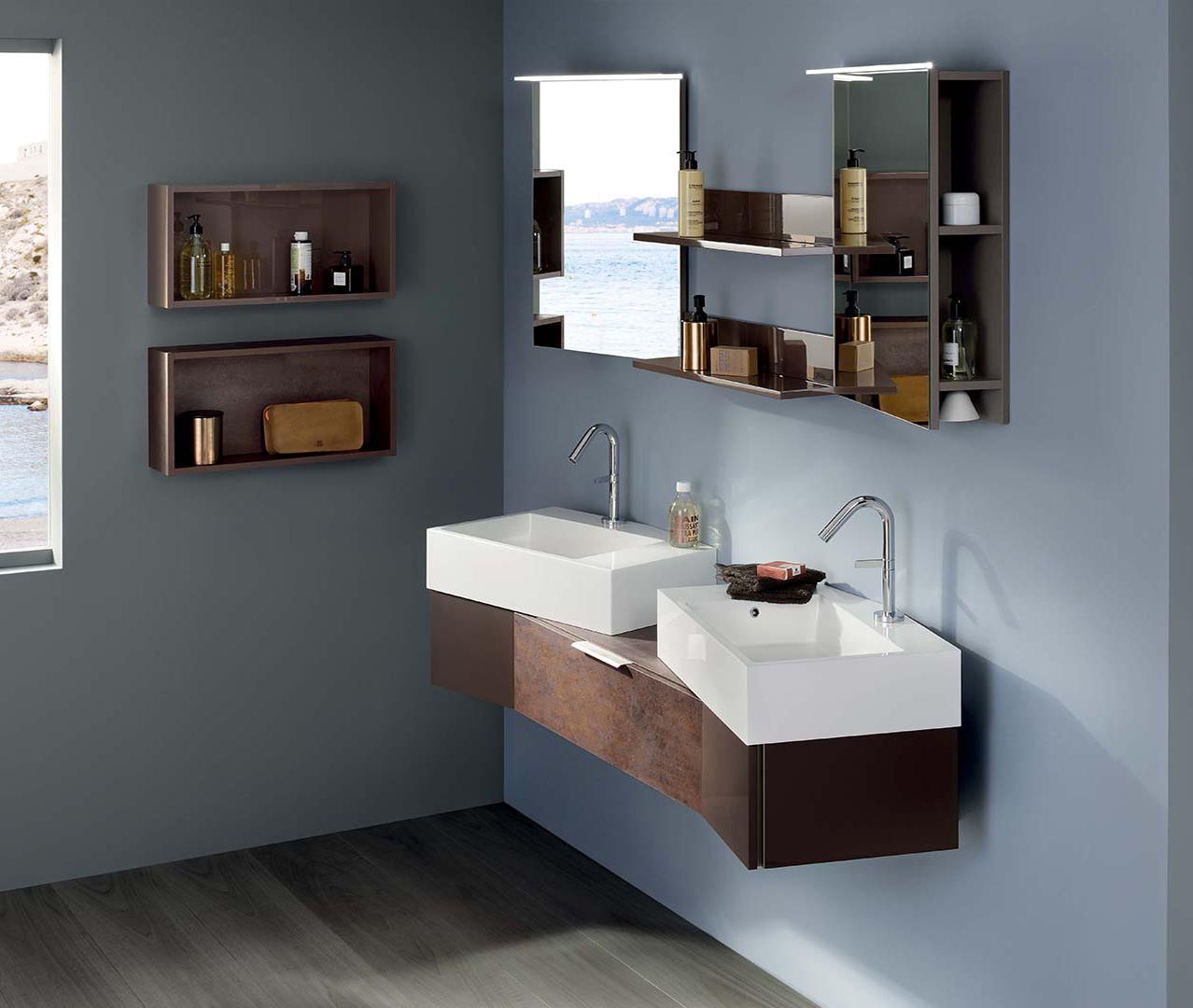 Toutes nos gammes meuble salle de bains sanijura for Colonne de salle de bain sanijura