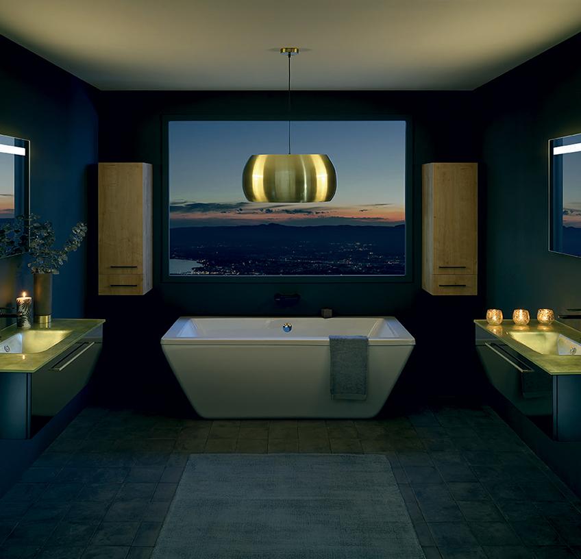 Gamme Halo, meuble salle de bain design - Sanijura