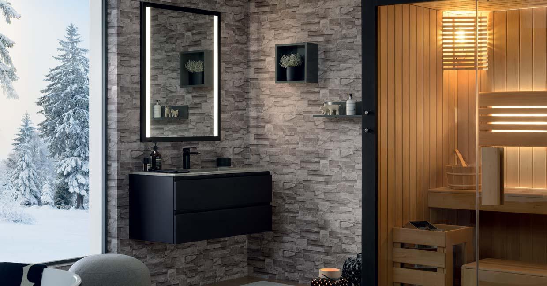 Salle De Bain Halo gamme halo, meuble salle de bain design - sanijura
