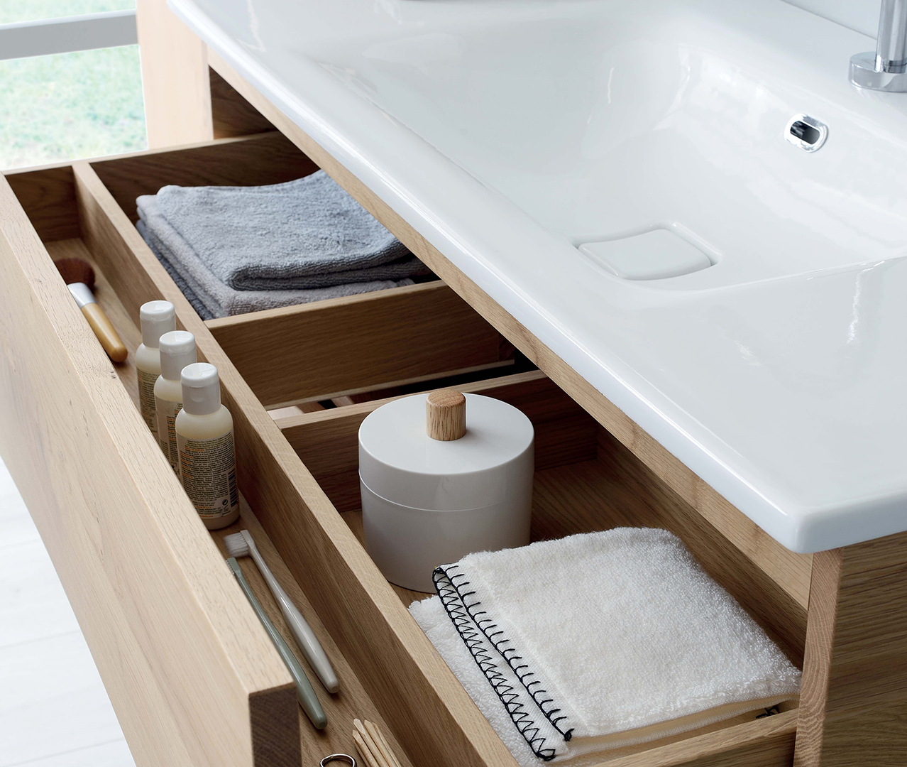 Gamme Sherwood, salle de bain bois, meuble SDB – Sanijura