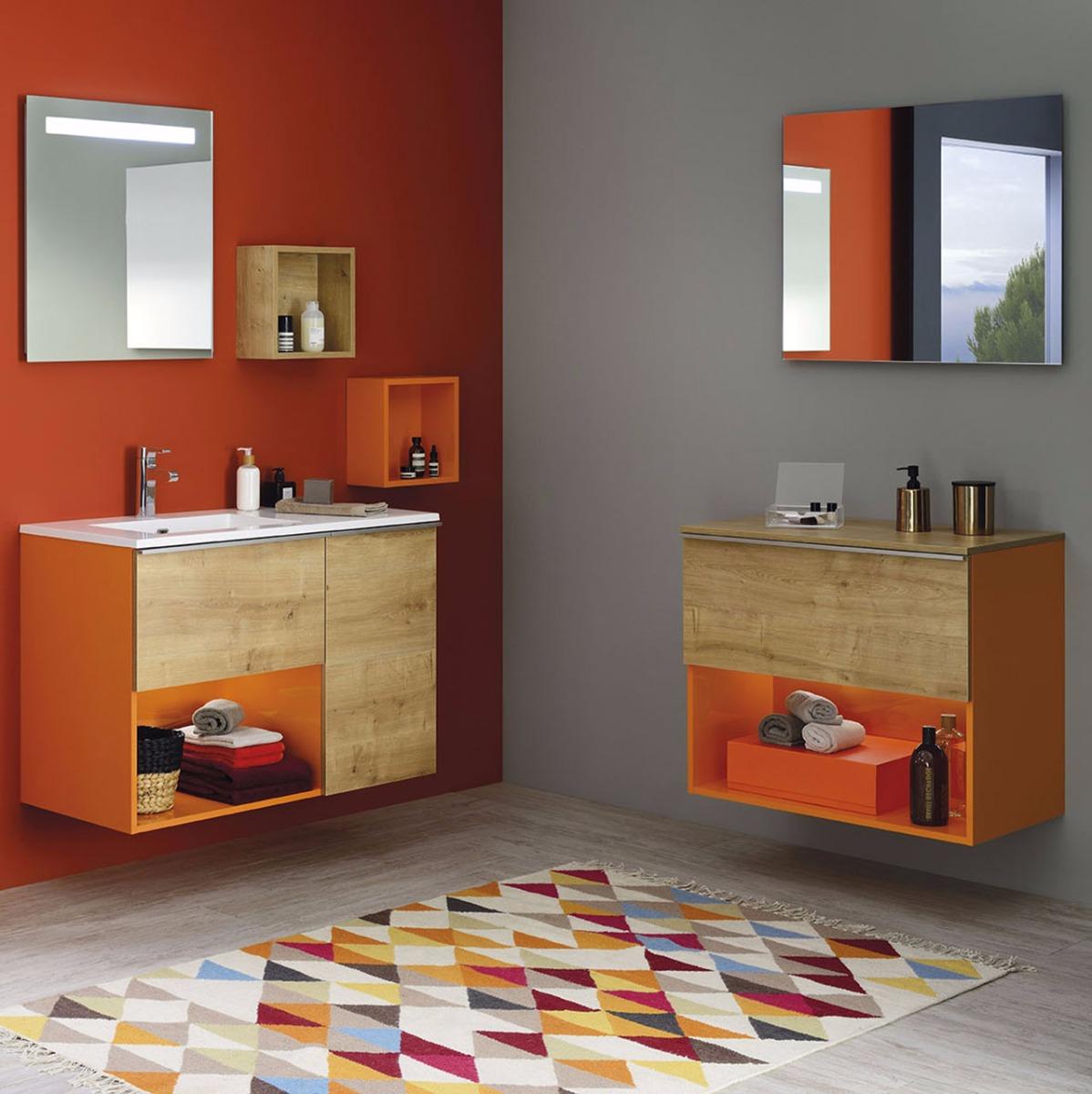 Gamme Liberty, meuble salle de bain tendance - Sanijura