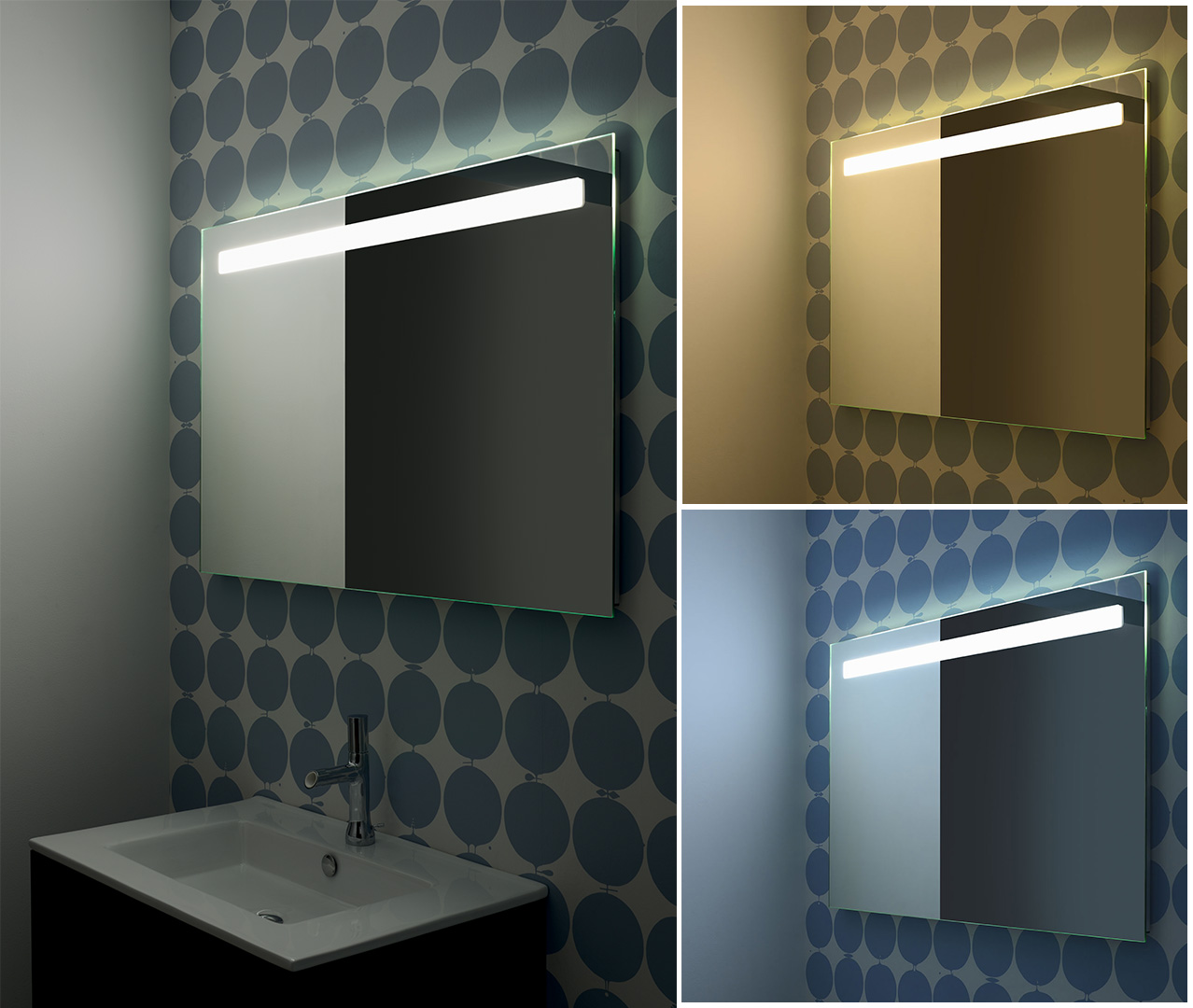 Gamme Reflet, miroirs, miroir salle de bain - Sanijura