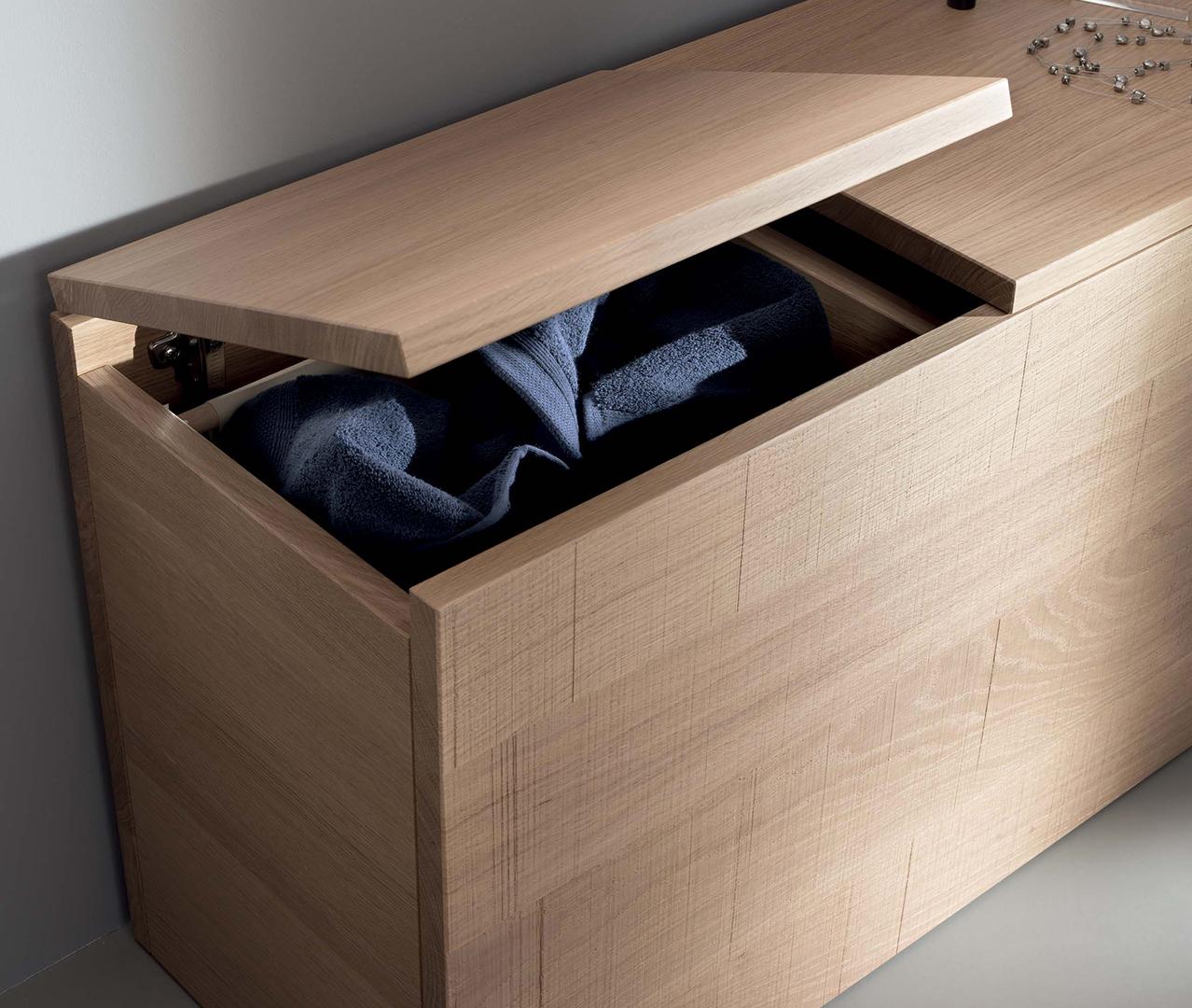 Gamme essentiel meubles salle de bain zen sanijura for Meuble de salle de bain sanijura