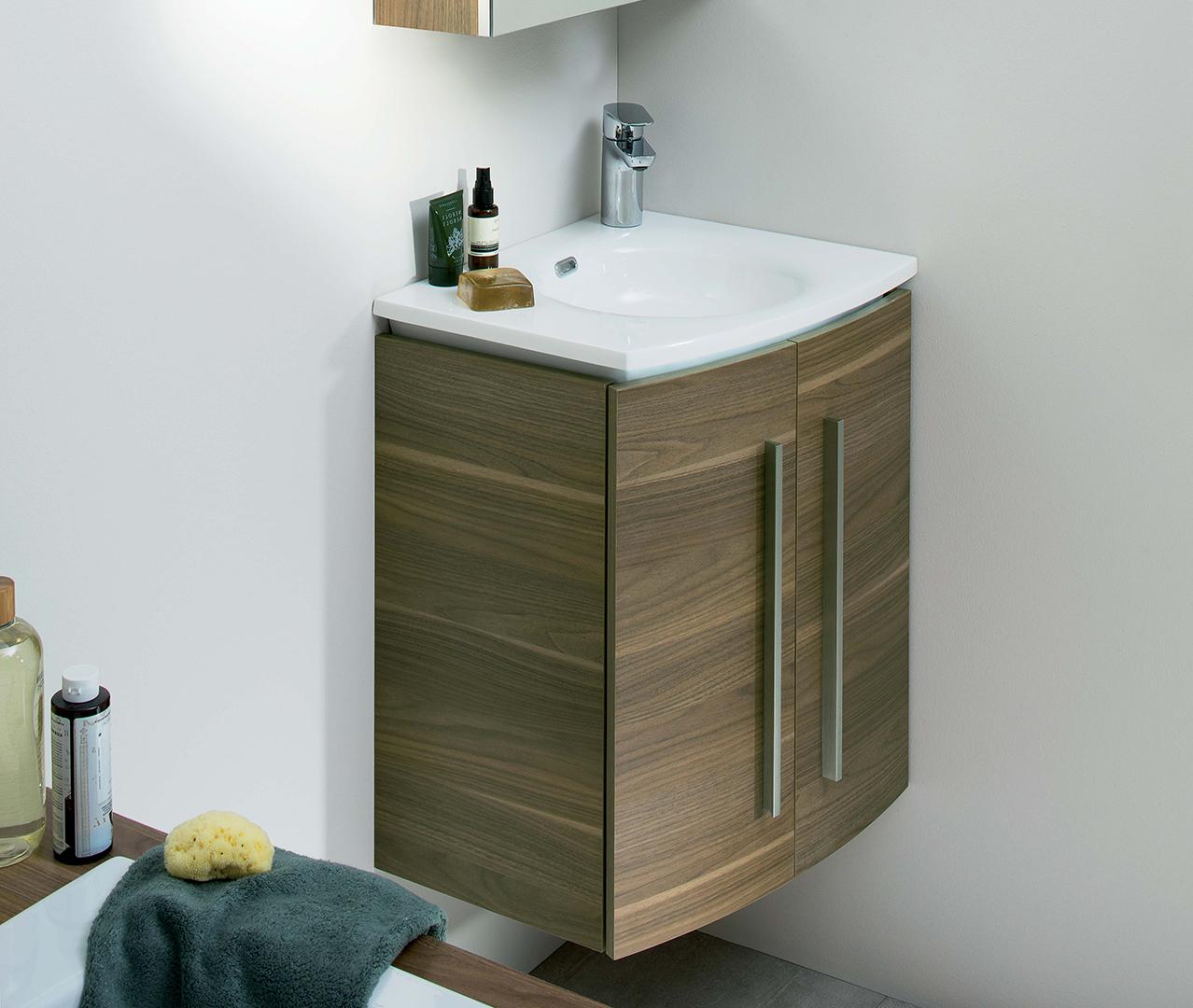 Gamme soon meuble salle de bain original sanijura for Meuble sdb original