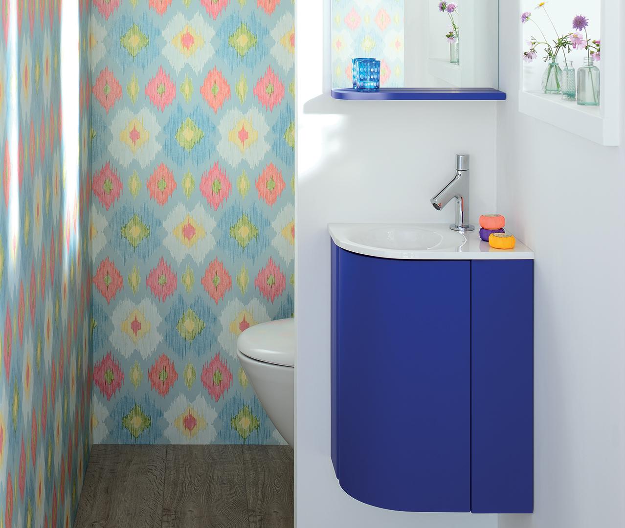Gamme pop petit meuble de salle de bain sanijura for Salle de bain pop