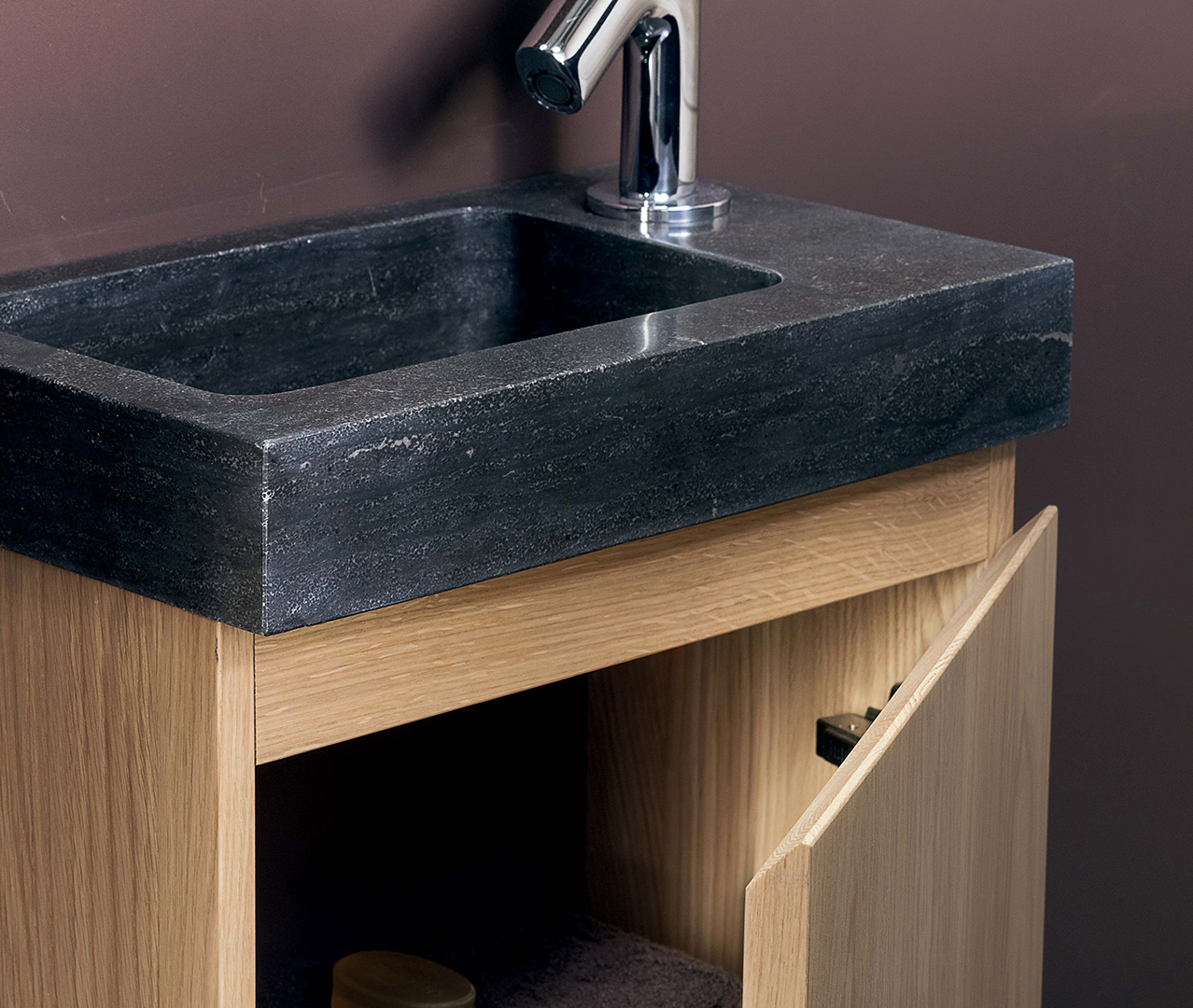 Gamme pop petit meuble de salle de bain sanijura - Meuble de salle de bain sanijura ...