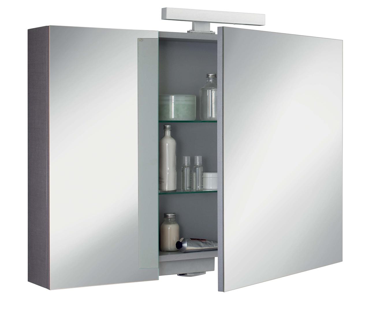 Gamme box armoire de salle de bain armoire toilette sanijura - Meuble rangement wc castorama ...