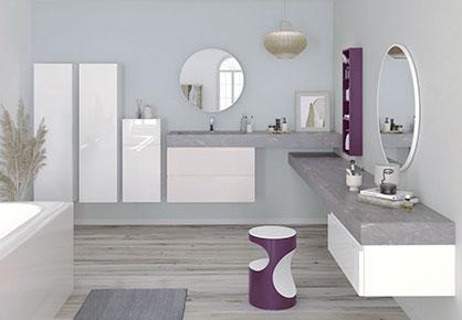 meuble de salle de bain Infinie moderne - Sanijura