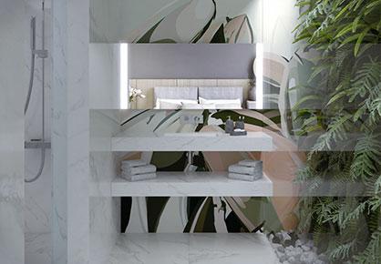 meuble de salle de bain Infinie nature - Sanijura