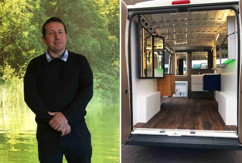 Showroom mobile Royaume-Uni - Sanijura