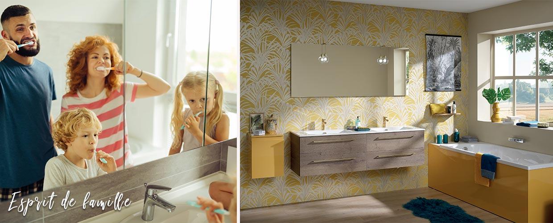 Salle de bain luciole - Sanijura