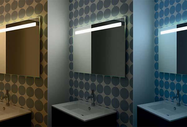 Gamme reflet miroirs miroir salle de bain sanijura for Miroir miroir film